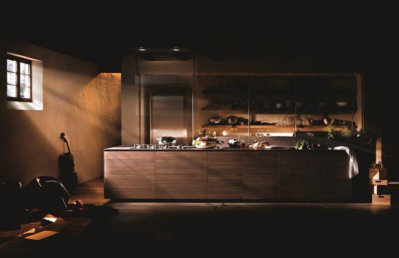 Trendy kuchnia  Pomysł Na Wnętrze -> Kuchnia Orzech Caravaggio